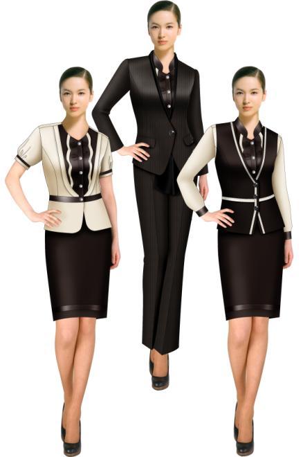 女款时尚职业装