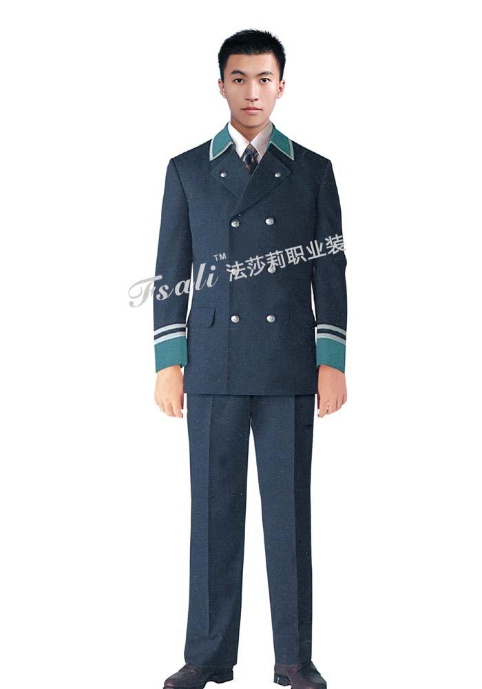 公交制服西服男装