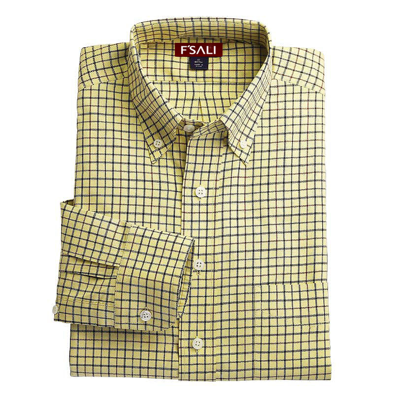 全棉长袖衬衫