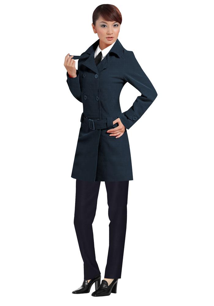 女职业装大衣订做