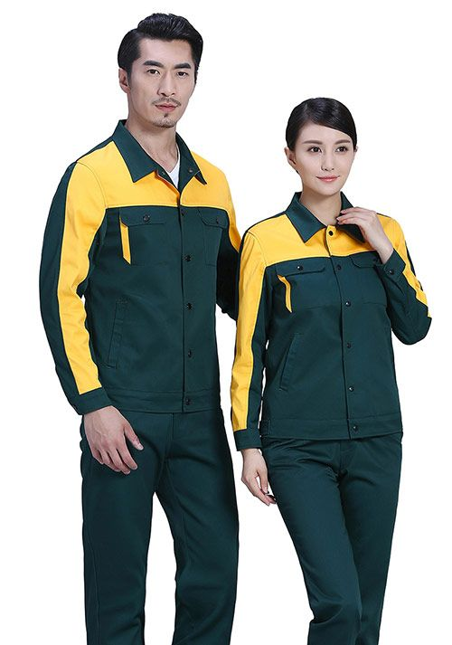 一般工作服和连体工作服的区别