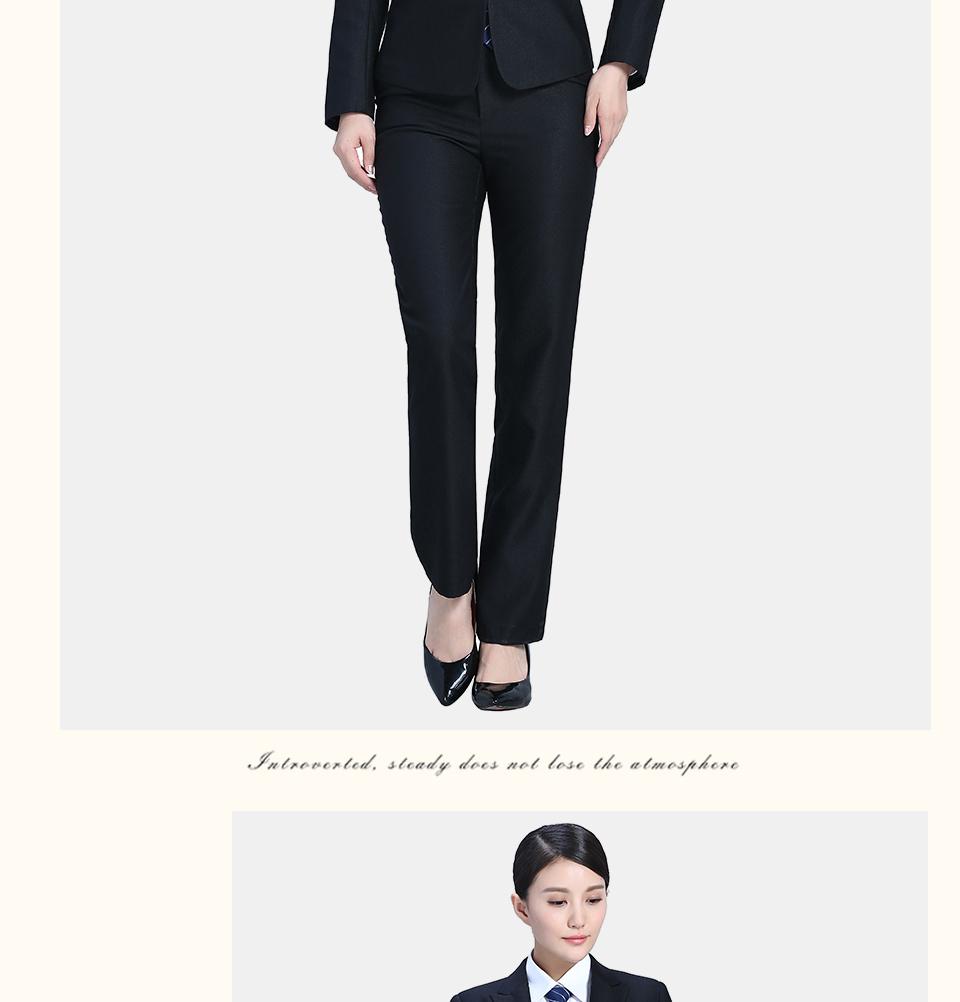 黑色时尚女士职业装