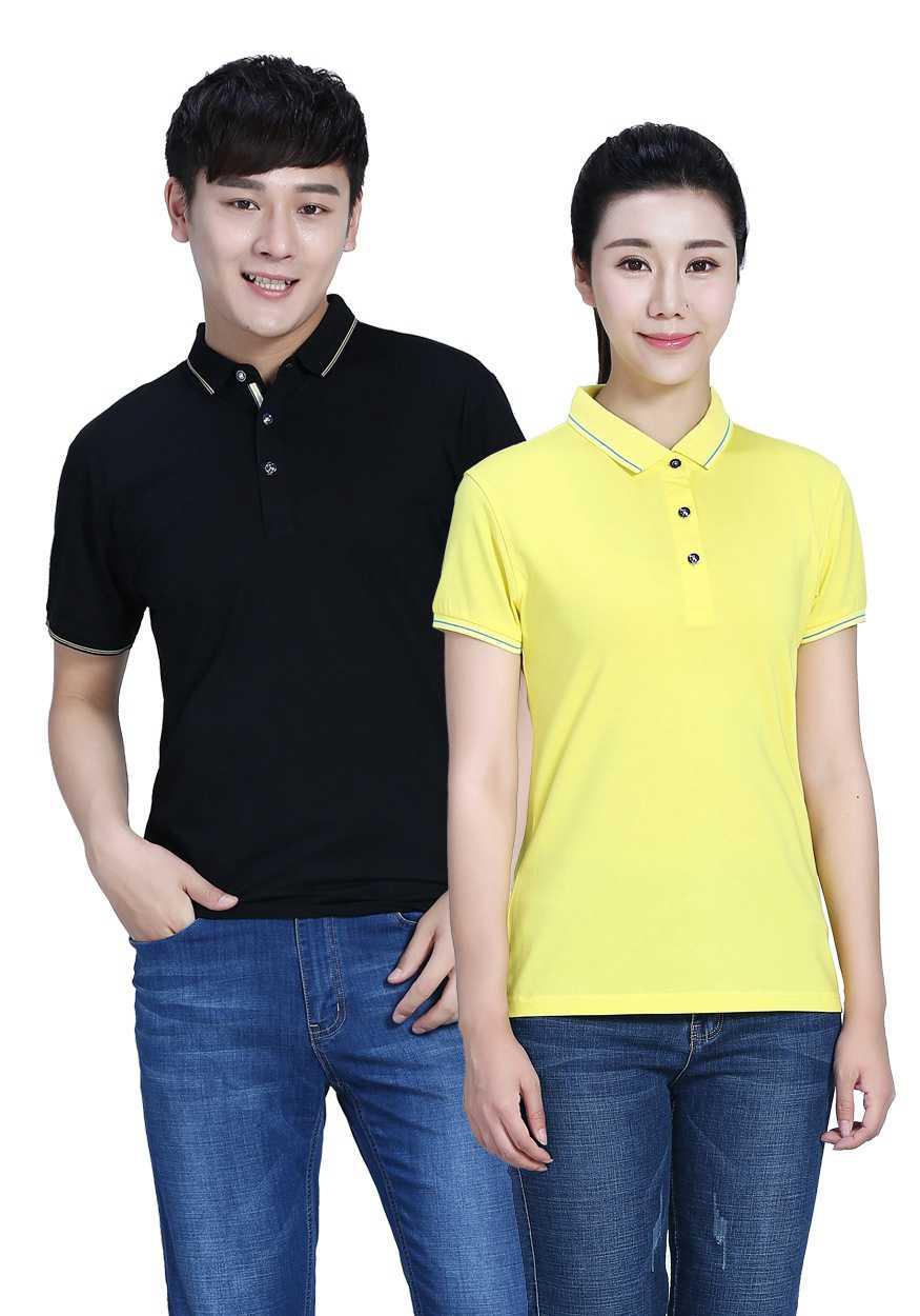 看条纹T恤与翻领t恤怎么搭配才能穿出时尚?